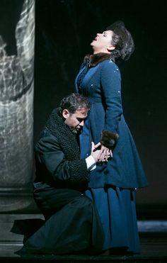 Eugene Onegin Mariusz Kwiecien and Anna Netrebko in the Metropolitan Opera's new production. Simulcast worldwide (including Jamaica) on October 6, 2013.
