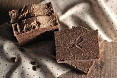 Rustic Coffee Cocoa Salt Soap
