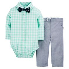 Just One You™Made by Carter's® Baby Boys' 2 Piece Set - Green Love it! checkout www. for more baby clothes and Items up to OFF! Outfits Niños, Baby Boy Outfits, Kids Outfits, Carters Baby Boys, Toddler Boys, Baby Boy Fashion, Kids Fashion, Trendy Fashion, Baby Kids Clothes