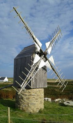 #Windmill - Bretagne - Île d'Ouessant - Finistère - http://dennisharper.lnf.com/