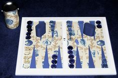 Backgammon Board Creations Custom backgammon boards designed with your own fabric