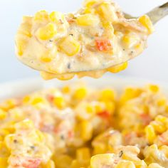 CREAMY MEXICAN CORN SALADReally nice recipes. Every hour.Show me  Mein Blog: Alles rund um die Themen Genuss & Geschmack  Kochen Backen Braten Vorspeisen Hauptgerichte und Desserts # Hashtag