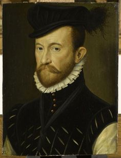 Chrestien Savigny, Lord of Rône. Chamberlain of the Duke of Anjou, lieutenant general of the Duke of Mayenne.