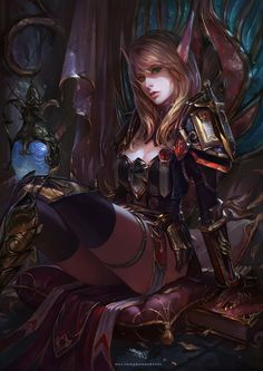 Anime Inspired HD Fantasy Wallpapers For Your Collection Fantasy Fantasy Warrior, Fantasy Girl, Fantasy Races, Warrior Girl, High Fantasy, Fantasy Women, Dark Fantasy Art, Fantasy Artwork, Fantasy Characters