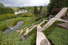 Garden of Cosmic Speculation, Jencks : Scotland