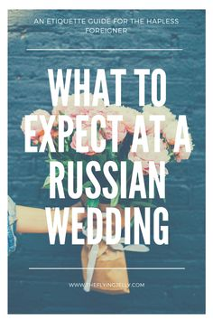 Guide Russian Marriage