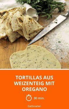 Das Grundrezept für selbst gemachte Wrap-Brote