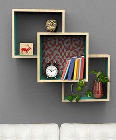 Floating Media Shelf, Floating Books, Home Design, Design Ideas, Window Shelves, Diy Regal, Living Room Shelves, Mirror With Shelf, Wall Storage