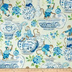Aesthetic Oiseau: Waverly Fabrics
