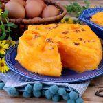 Ovos Moles de Aveiro | Receitas e Menus Sweet Recipes, Cantaloupe, Pineapple, Food Porn, Sweets, Sugar, Fruit, Desserts, Portugal