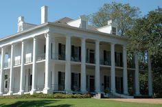 Dunleith is also a fantastic house in Natchez, Mississippi.  The carriage house has carriages that belonged to the owners before the Civil War.