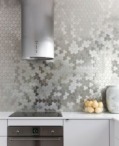 Metallic Tile Design Ideas, Pictures, Remodel, and Decor - page 6