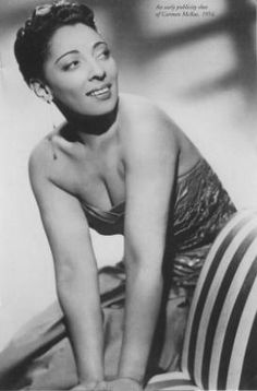 CARMEN MCRAE (1920-1994) was an American jazz singer, composer, pianist, and actress. Considered one of the most influential jazz vocalists of the 20th century, it was her behind-the-beat phrasing and her ironic interpretations of song lyrics that made her memorable. McRae drew inspiration from Billie Holiday, but established her own distinctive voice. She went on to record over 60 albums, enjoying a rich musical career, performing and recording in the United States, Europe, and Japan.