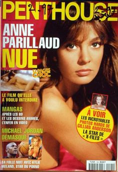 Penthouse France N°145 du 01/02/1997 - ANNE PARILLAUD Couverture - Format classique Michael Jordan, X Files, Blu Ray, France, Film, Movie Posters, Movies, Magazine, Anne Parillaud