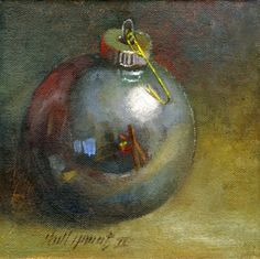 Image from http://cdn.dailypainters.com/paintings/silver_christmas_ornament_6_x6_oil_on_canvas_other_still_life__still_life__672201eb952d00e8e92b45fb8c28ac81.jpg.