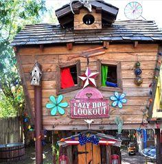 Kids treehouse DYI