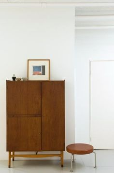 put down your keys, take off your shoes, and take out whatever you hide in that cabinet.