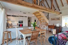 English barn conversion