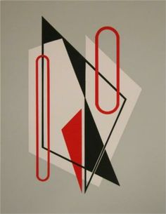 Composition -  César Domela (1900-1991) was a Dutch sculptor, painter, photographer, and typographer, and a key member of the De Stijl movement. In 1925, he became the youngest member of De Stijl, working closely with the famed Theo van Doesburg and Piet Mondrian.