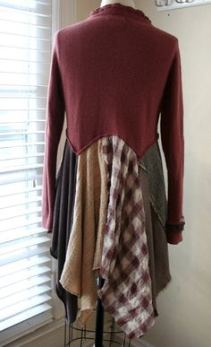 Hand Made 'Breathe-Again' Recycled Sweater by BreatheAgainClothing