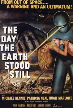 he Day the Earth Stood Still - movie - Retro Sci-Fi Magacine cover