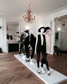 "HANS BOODT MANNEQUINS, ""The BLEND Launch in Paris....bien fait Hans"", pinned by Ton van der Veer"