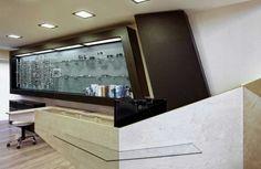 Optical Store Receptionist Area