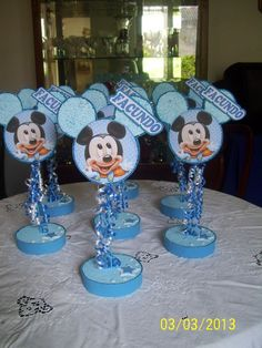 mickey mouse 1st birthday centerpiece - Google Search