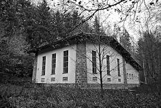 Bauaufnahme Saussbach Wasserkraftwerk, 2005,#Michael Folkmer