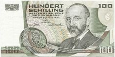 Collecters Item: Austria 100 Schilling 1984 Pick 150 Look Scans - Financializer Store Kitsch, Gold Money, Coin Collecting, Retro, Austria, Childhood Memories, The 100, The Past, History
