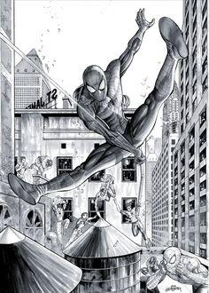 Spider Man - Commission by JacksonHerbert on deviantART