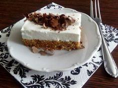 Cuketový koláč bez múky Sweet Recipes, Healthy Recipes, Tiramisu, Zucchini, Cheesecake, Food And Drink, Low Carb, Pie, Cookies