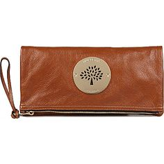5465d8a345 MULBERRY - Daria spongy leather clutch