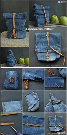 DIY Jeans Bag