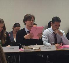 Criminal Minds Round Table: CRIMINAL MINDS Season 10 - BTS: 1023. The Hunt