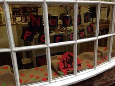 Remembrance window @Kristina's Thirsk