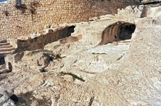 Archaeologists believe these two tunnels in the City of David may have once held the remains of the earliest Old Testament kings of ancient Jerusalem.