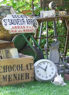 Flea Market - My French Country Home, French Living - Sharon Santoni