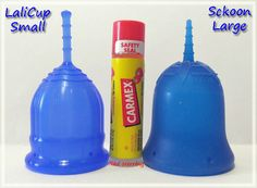 LaliCup Small vs Sckoon Large #menstrualcup #periodpositive #mycupsonfleek #rumps #menstruationmatters