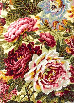 Floral Burst Peonies Black Phone Wallpaper, Fabric Wallpaper, Pattern Wallpaper, Textile Patterns, Textile Prints, Print Patterns, Textiles, Surface Pattern Design, Pattern Art