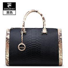 ZOOLER 100% Genuine Leather Handbag bags handbags women famous brands messenger bags bolsas femininas tote shoulder bucket bag