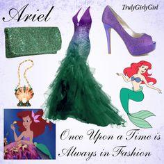 Disney Style: Ariel (3), created by trulygirlygirl on Polyvore