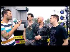 The Script - Rock Werchter interview - Glens Birthday