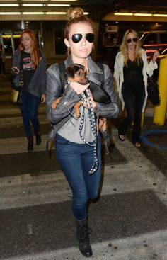 Miley Cyrus in Citizens of Humanity jeans