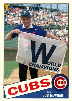 Chicago Cubs History, Cubs Cards, Chicago Cubs Baseball, Cubs Fan, Mlb Teams, Big Picture, Cubbies, Champs, Trading Cards