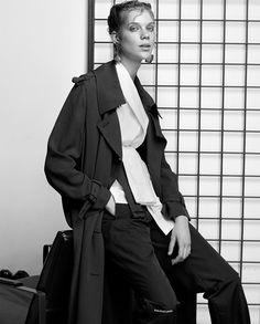 ELLE Turkey April 2017 Elles Ottens by Koray Parlak - Fashion Editorials