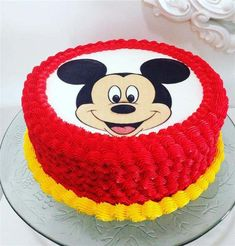 80 Trending Birthday Cake Designs for Men, Women & Children Pastel Mickey Mouse Niño, Baby Mickey Mouse Cake, Fiesta Mickey Mouse, Mickey Mouse Parties, Mickey Party, Elmo Party, Dinosaur Party, Unique Birthday Cakes, Adult Birthday Cakes