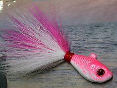 sea bass,grouper, Mustad hook,striper bluefish Guppy minnow jigs UN-PAINTED