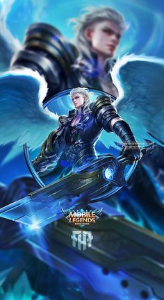 Wallpaper Phone Alucard Child of the Fall by FachriFHR on DeviantArt Mobile Legend Wallpaper, Iphone Wallpaper Fall, Hero Wallpaper, Hp Mobile, Best Mobile, Miya Mobile Legends, Moba Legends, Alucard Mobile Legends, Akali League Of Legends