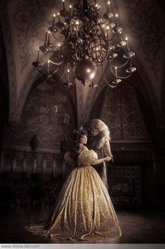 Real-life Beauty & the Beast. Breathtaking gothic photography by Viona Ilegems.